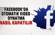 facebook otomatik video oynatma kapatma pc