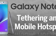 samsung galaxy note 5 internet paylaşımı