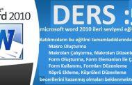 microsoft word 2010 ileri seviyesi eğitim ders 5