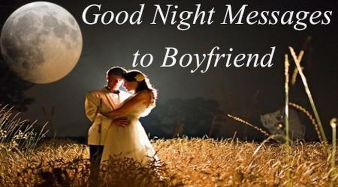 Good Night Message For Girlfriend or Wife