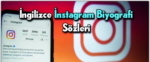 instagram biyografi sözleri ingilizce